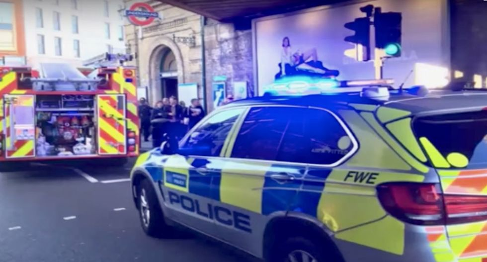 Teenager charged over London Underground attack: police
