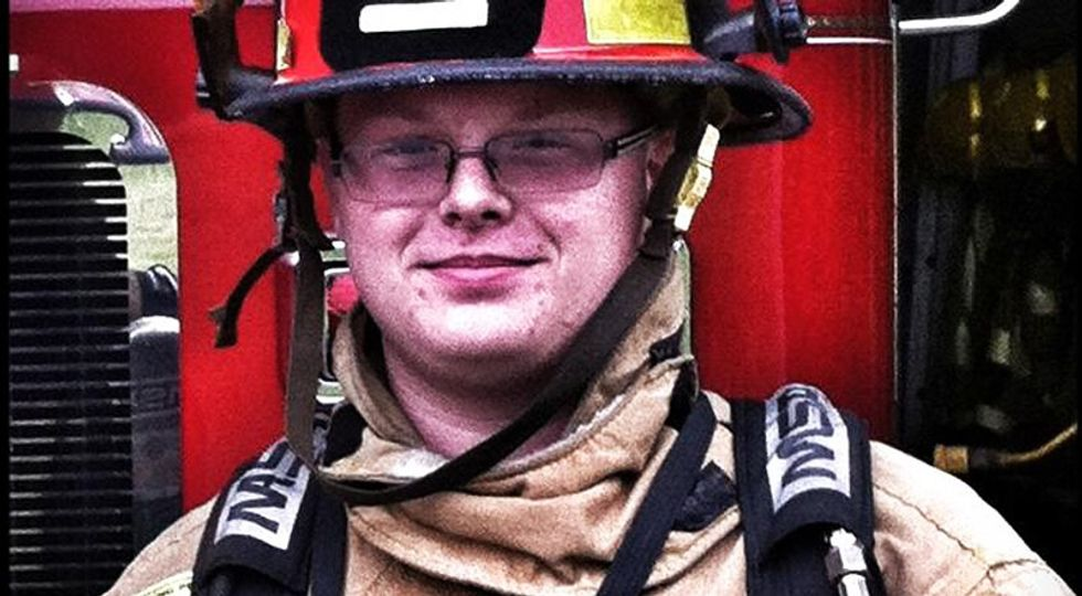 Ohio fireman suspended for saying he would rescue a dog from a burning building before saving a 'n*gger'