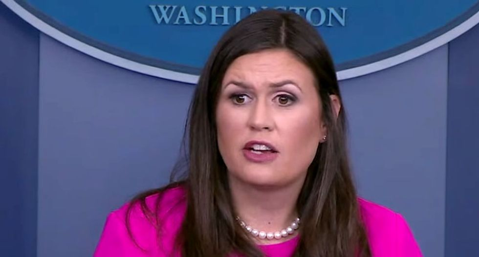 WATCH: Reporters go for the jugular after Sarah Huckabee Sanders doubles down on Jemele Hill attack