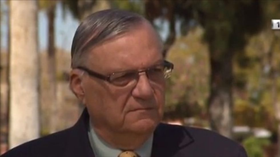 Federal judge considering filing contempt charges against Ariz. Sheriff Joe Arpaio