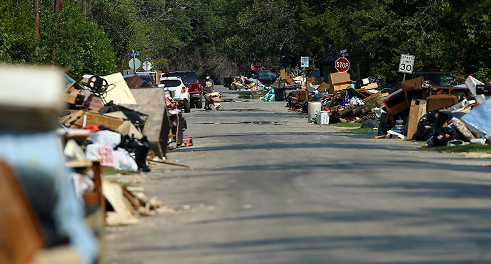 Houston residents, officials stew over Harvey storm-trash removal