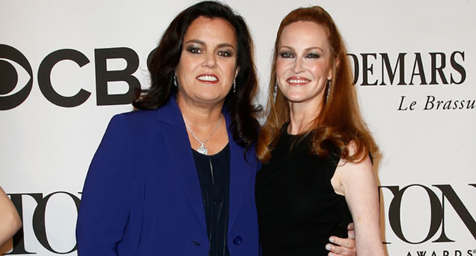 Rosie O'Donnell is 'saddened' by the sudden loss of her ex-wife Michelle Rounds