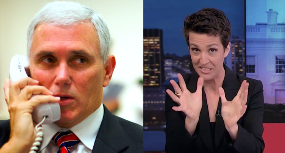 Smoking gun?: Maddow pinpoints a massive missing link in the flurry of Trump firings and resignations
