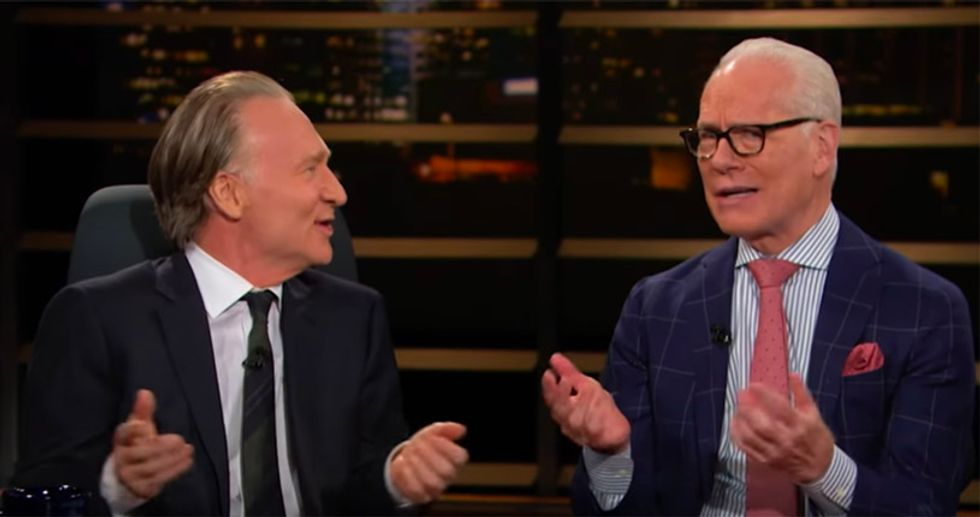 WATCH: Project Runway's Tim Gunn tells Maher hilarious story about walking in on cross-dressing J. Edgar Hoover