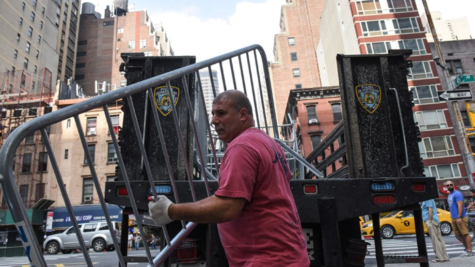 New York City police ramping up security for Trump UN visit