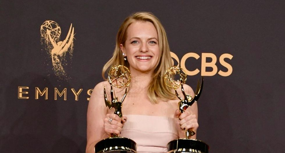 Elisabeth Moss, a Scientologist, wins Emmy for depicting cult