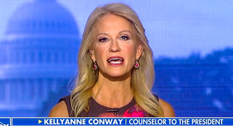 Kellyanne Conway slams Emmys for mocking Trump: 'You're showing world you're easy with an insult'