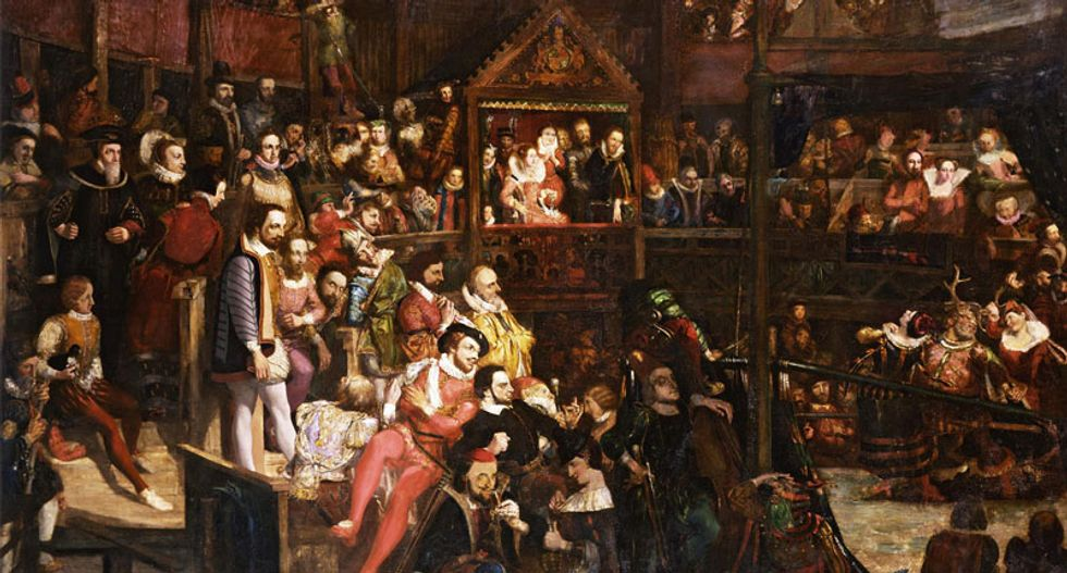 The idea of 'white people' was invented by a Jacobean playwright in 1613