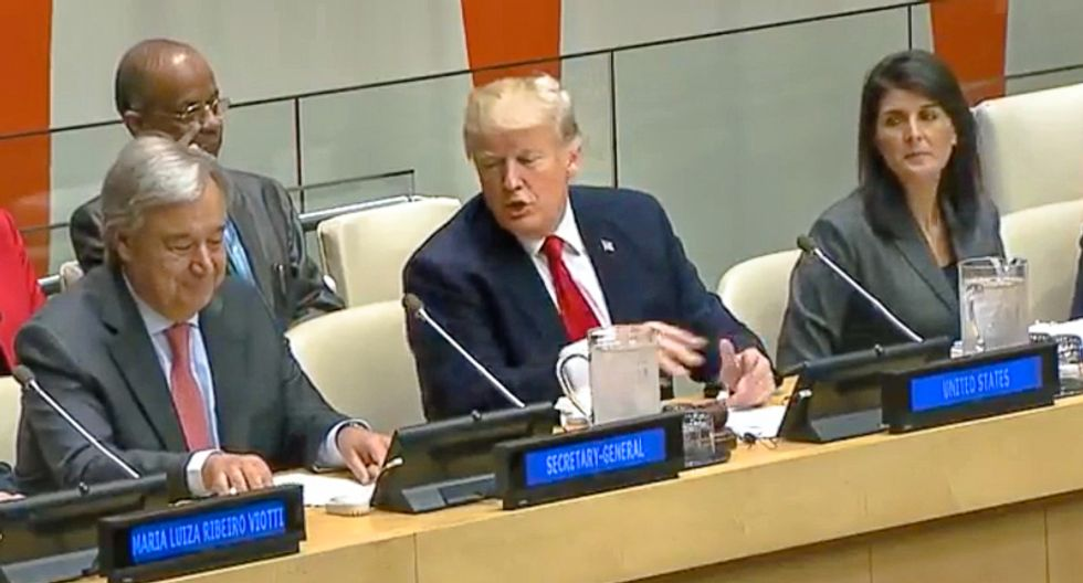 Confirmed: Trump will surprise UN climate ministers by withdrawing from Paris Climate Agreement at meeting
