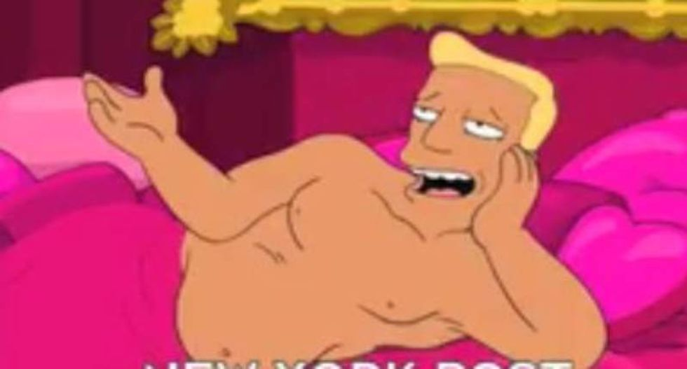'Futurama' revives 'Zapp Brannigan' character to lampoon Trump — using his own words
