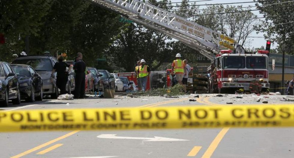 Apartment complex blast in Maryland kills two people