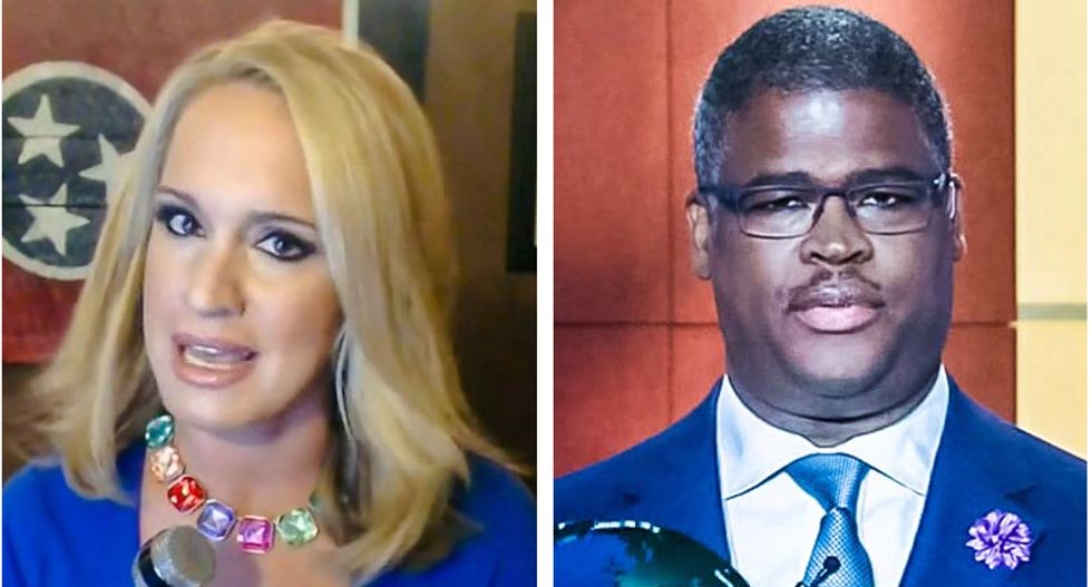Conservative commentator Scottie Nell Hughes: 'I was raped by Charles Payne and again by Fox News'