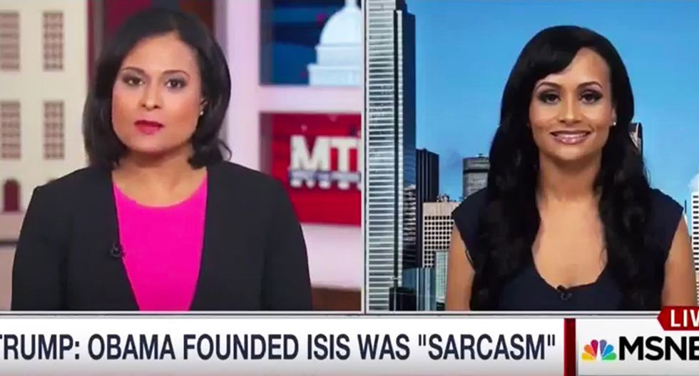 Katrina Pierson laughs off Trump's 'irresponsible' comments: 'He should be joking and having fun!'