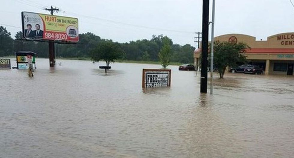 At least two dead, two injured as rains pound the Gulf Coast