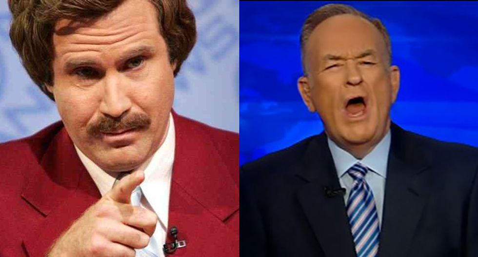 That escalated quickly: Bill O'Reilly says he can 'explain' politics to Will Ferrell in 15 minutes
