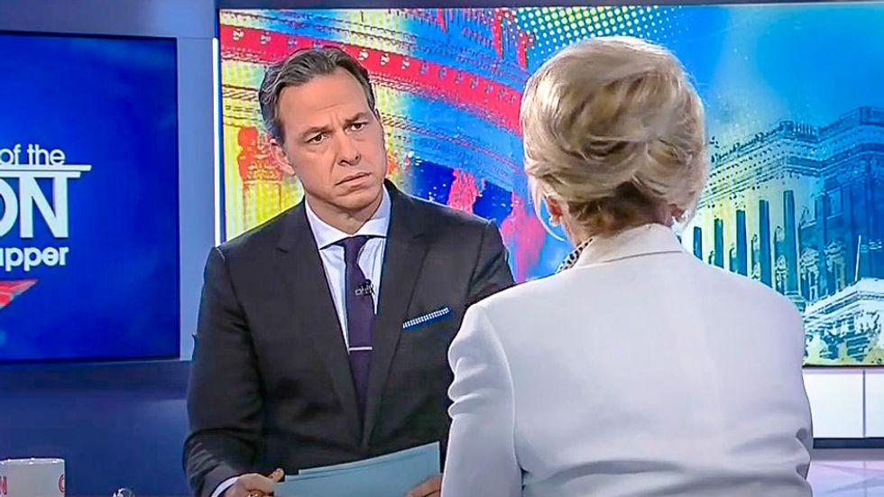 'How dare we cover comments he makes': Trump's Jan Brewer gets awesome shade from Jake Tapper