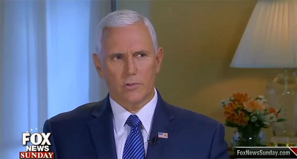 Fox News host blasts Mike Pence as nothing more than Trump's 'clean up crew'