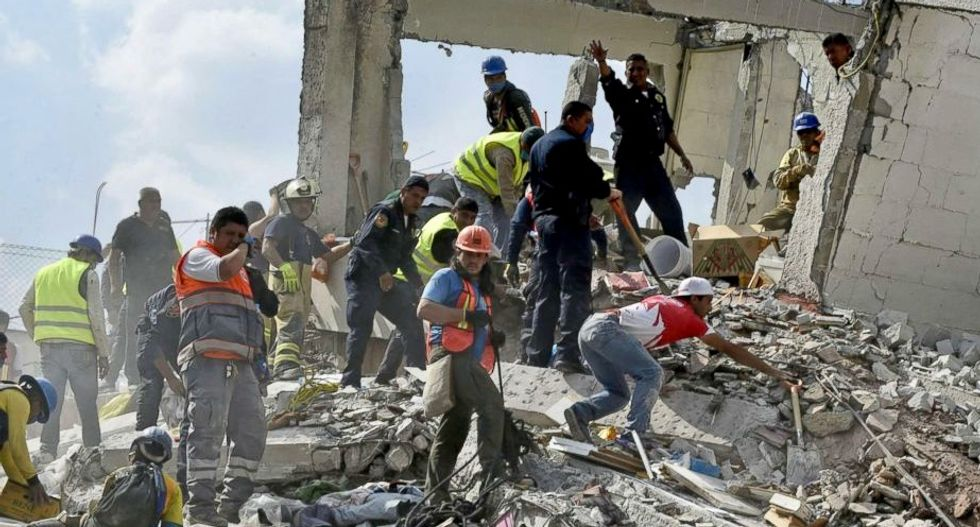 More than 200 killed after 7.1-magnitude quake strikes central Mexico