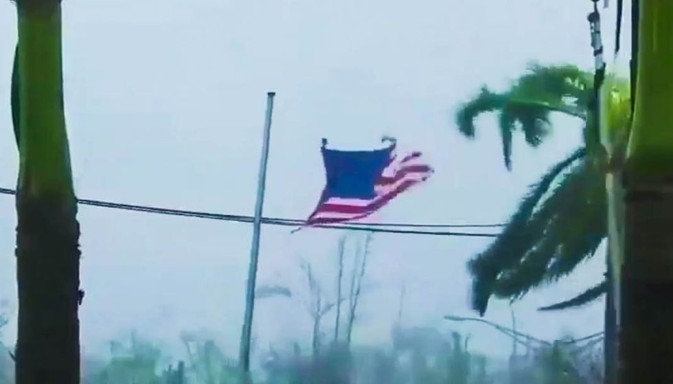 Terrifying videos show Hurricane Maria unleashing 150-mph winds and flooding on Puerto Rico