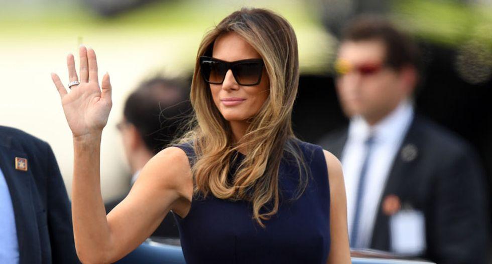 WATCH LIVE: First lady Melania Trump hosts White House Kitchen Garden event