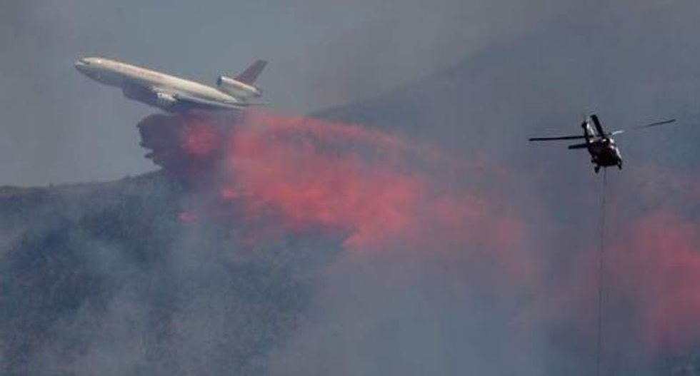 Calif. wildfire tears through nearly 200 homes and businesses after reaching small town