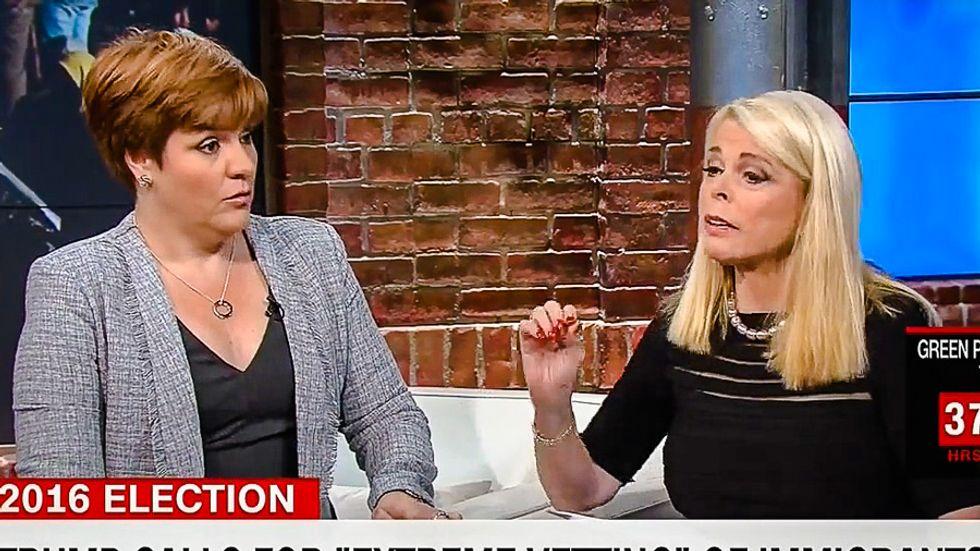 Trump supporter fearing Muslim 'gang rapes' floats World War II internment camps on CNN