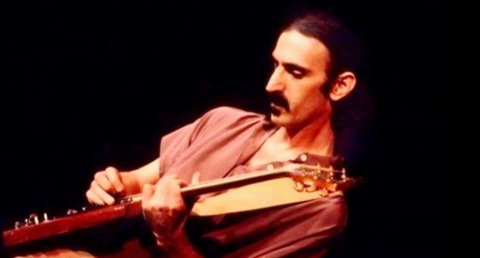 Late Frank Zappa back on tour as hologram