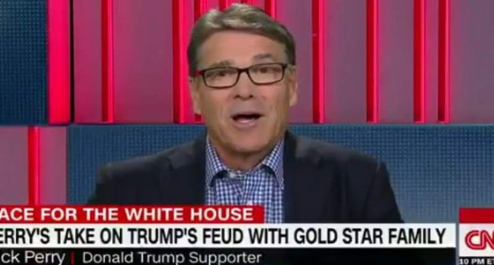 Rick Perry: Khizr Khan 'shouldn't get a free ride' for ripping Trump in DNC speech