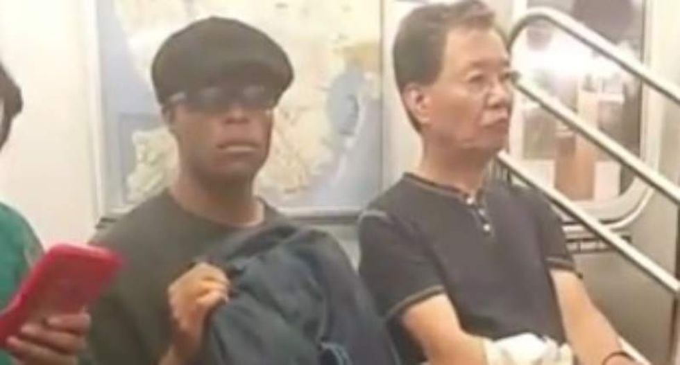 'What the f*ck are you doing?': NYC woman hilariously shames subway masturbator