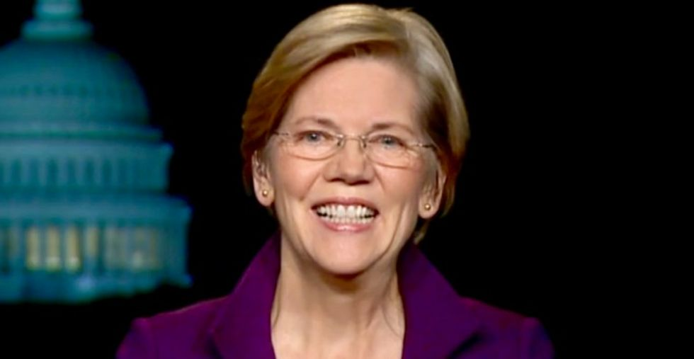 Bankers 'confirm Warren's whole worldview' by saying they'll donate to Trump to defeat anti-Wall Street Senator in 2020