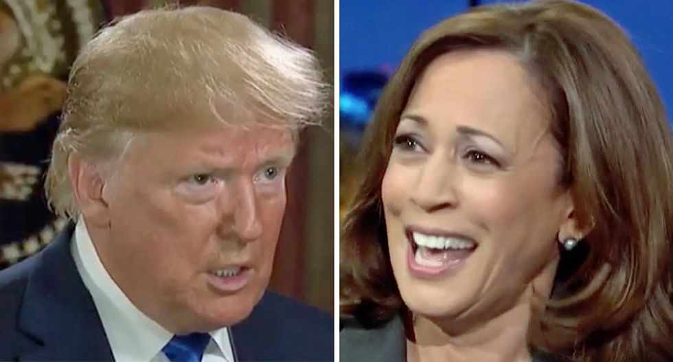 'False and racist conspiracy': Publications label Trump's birtherism against Kamala Harris for what it is