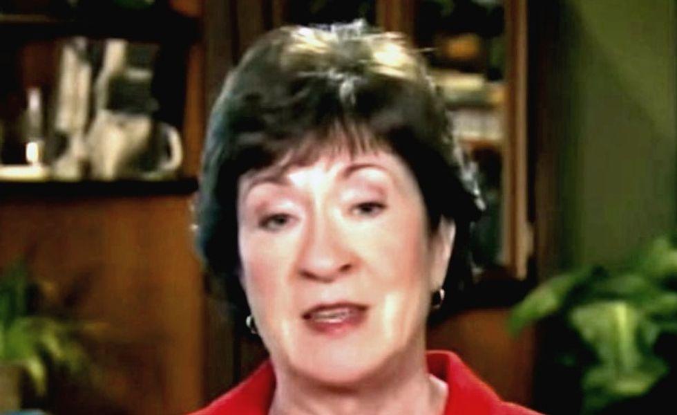 Republican Senator Collins says talks on tax bill 'productive'
