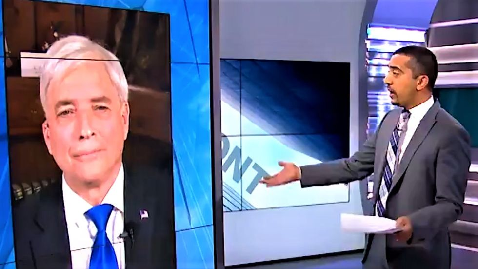 WATCH: Al Jazeera host corners Trump supporter on president's lies like few American journalists ever have