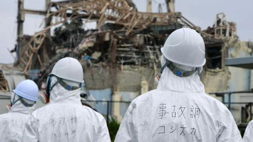 Fukushima worker dies after being buried in rubble, says nuclear plant operator