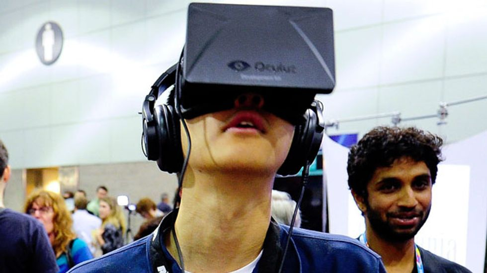 Facebook to buy maker of 'Oculus Rift' virtual-reality goggles for $2 billion