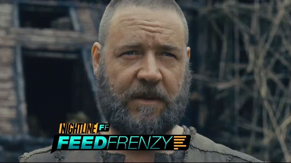 Actor Russell Crowe: Noah movie criticism 'bordering on absolute stupidity'