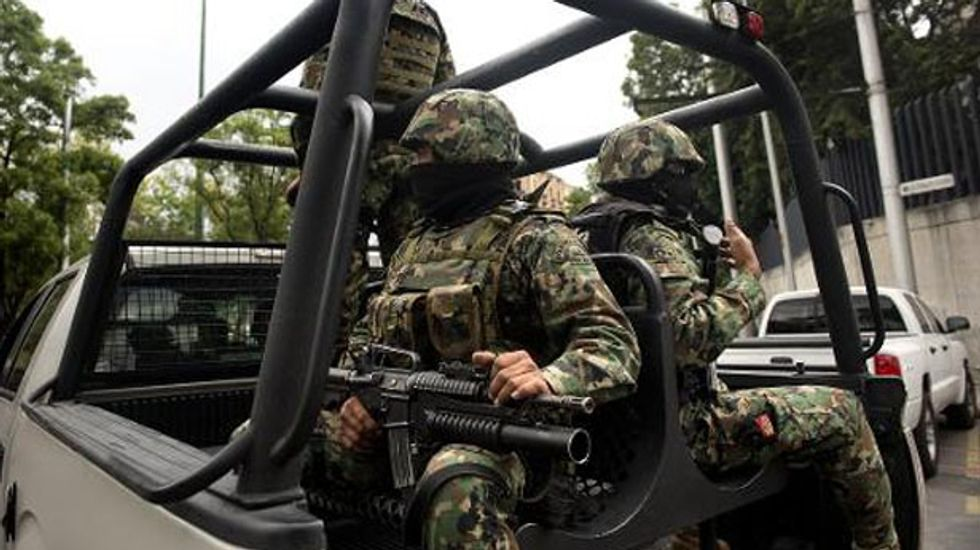 Mexican forces kill 10 Zetas drug cartel suspects in gunfight