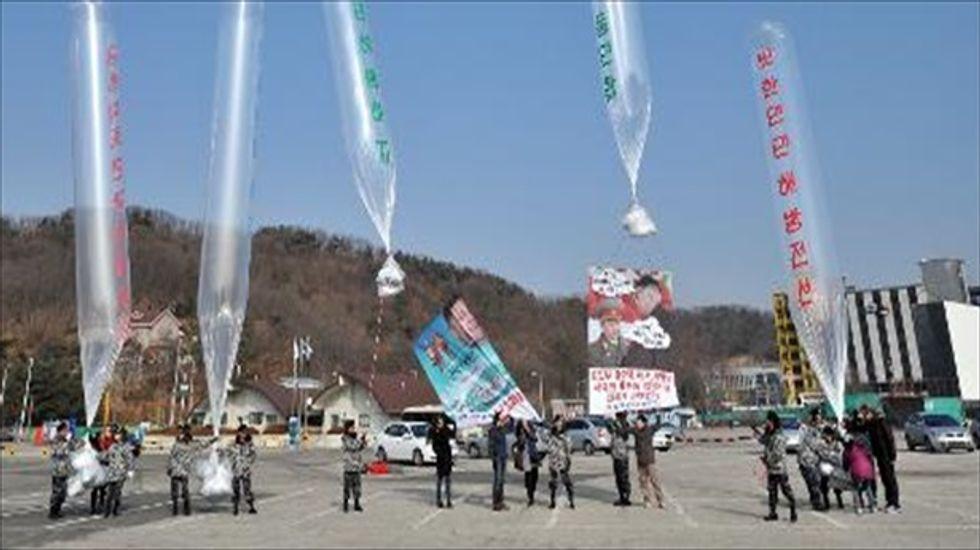 North Korea: South Korea's anti-Pyongyang leaflets could incite a war