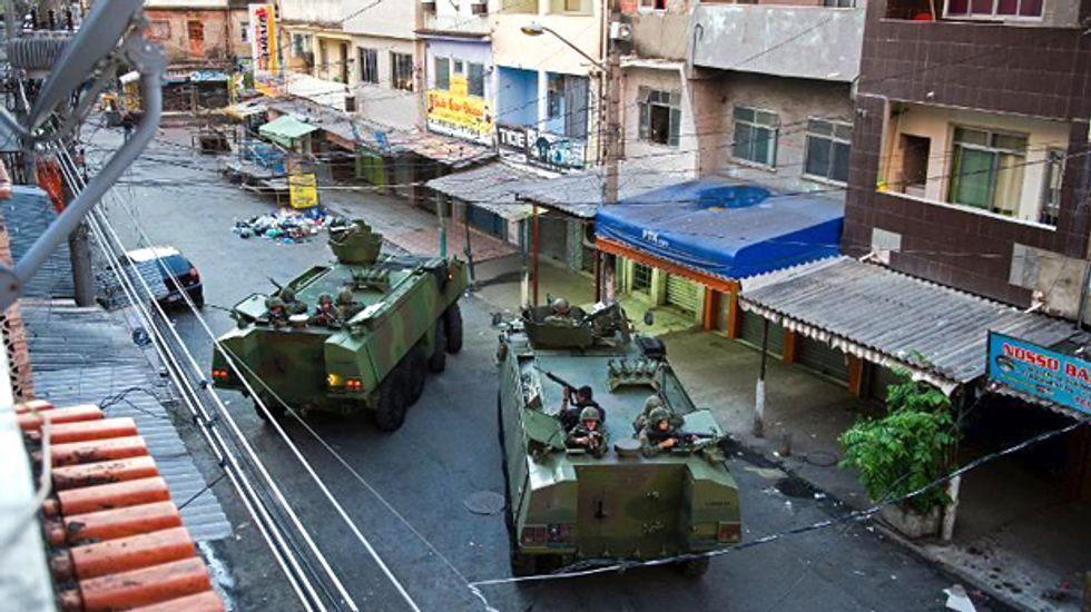 Police occupy crime-ridden Rio favela following massive dawn raid