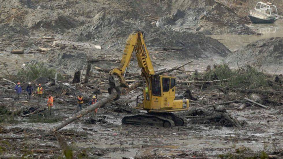 Emergency crews face unexpected toxic challenge in Washington state mudslide