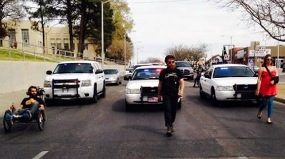 Protest over excessive force by Albuquerque Police Department ends without use of it