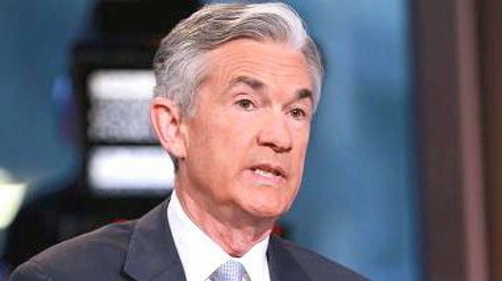 Federal Reserve chair Jerome Powell faces early test of policy view as tax cuts near approval