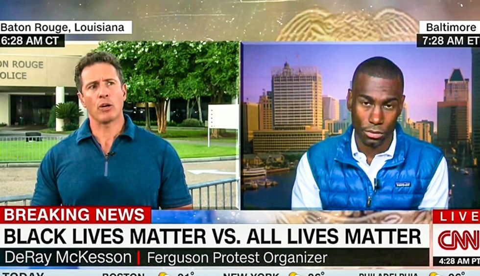 DeRay Mckesson: You don't 'go to a breast cancer rally and yell out colon cancer matters'