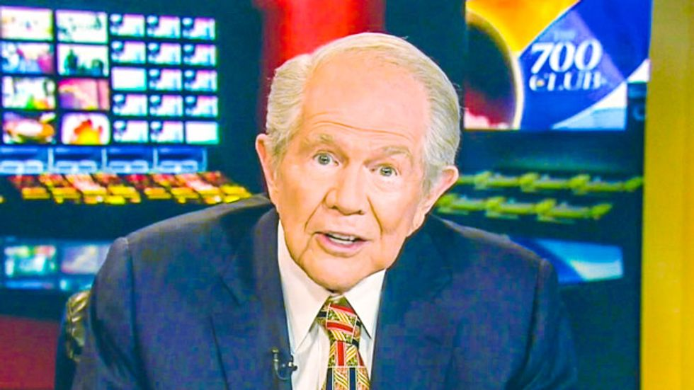 Pat Robertson: Buying stuff 'by computer' is the 'Mark of the Beast'