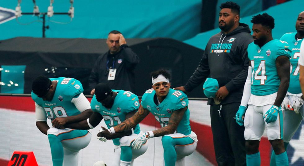 The NFL wants players to believe patriotism is more important than protest – here's why that didn't work during WWI