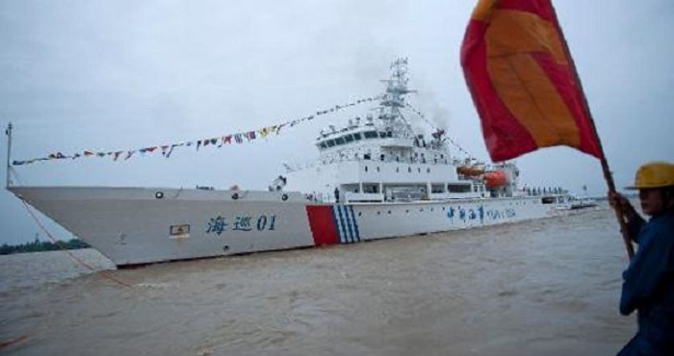 Planes and ships deployed to area where Chinese ship heard possible black box signal