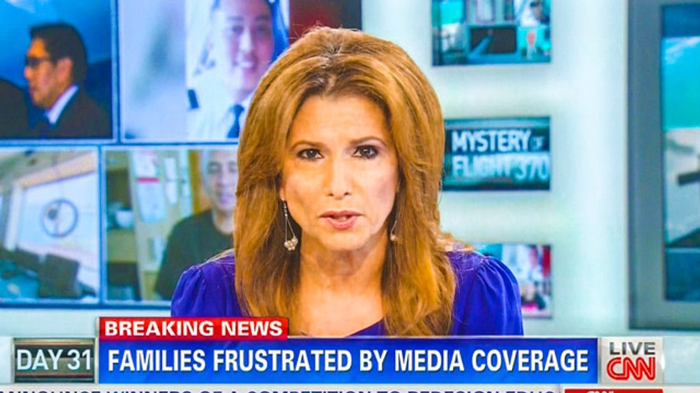 CNN's Day 31 missing flight 'Breaking News' is 'Families Frustrated by Media Coverage'