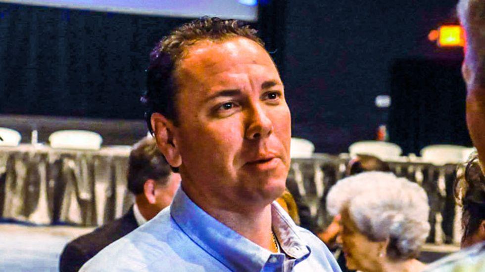 'Christian conservative' GOP rep. caught on surveillance video kissing female staffer