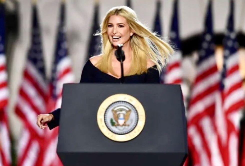 Ivanka: Trump daughter-confidante makes case for four more years