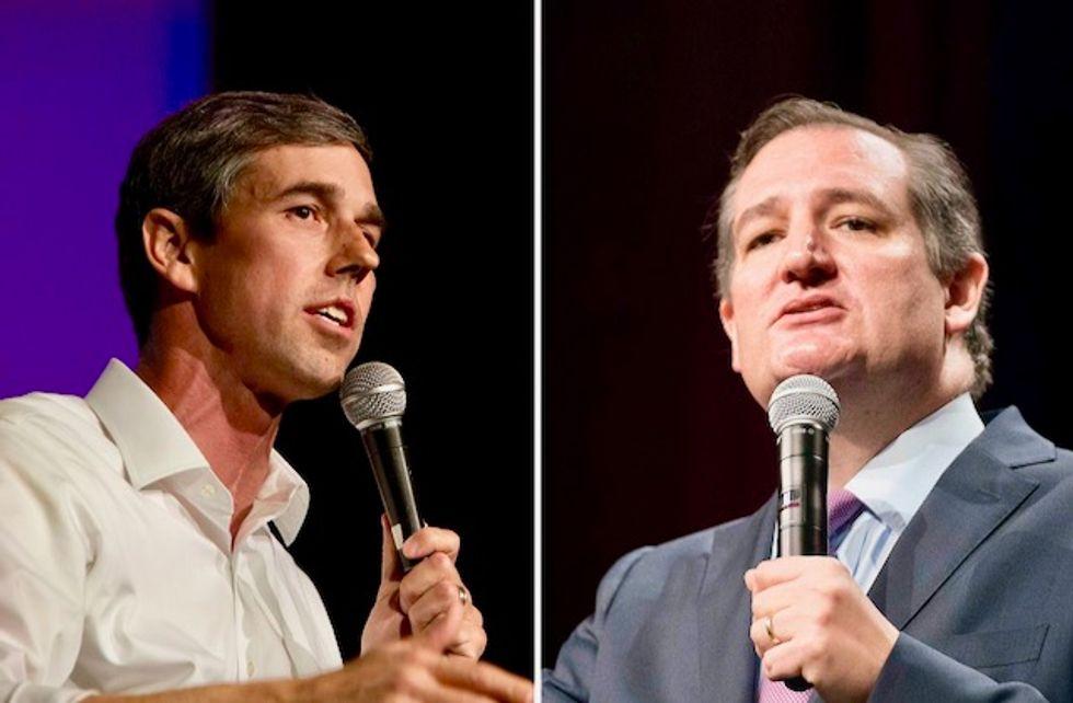 Who's got longer coattails? Ted Cruz or Beto O'Rourke?
